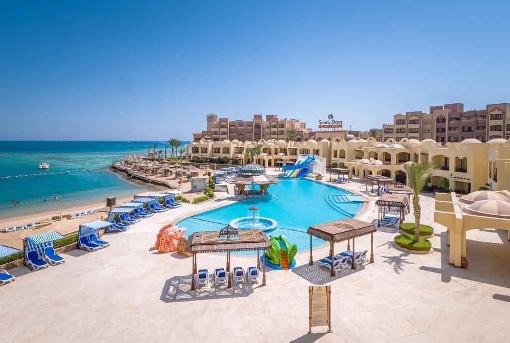 Отель Sunny Days Resort Spa & Aqua Park (ex. Sunny Days El Palacio Resort &  Spa) (Хургада, Египет) 4* — туры в отель Sunny Days Resort Spa & Aqua Park  (ex. Sunny